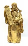 Product ID : 6411 - Category : Other Decor - Product Name : Large Brass God of Wealth Figure 大黃銅財神像