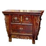 Product ID : 6544 - Category : Sideboard - Product Name : Vintage Chinese Side Cabinet 2 Drawer 2 Door