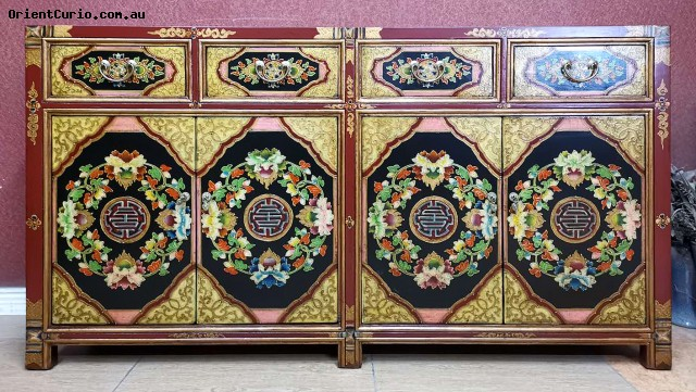 Category: Sideboard-Long - Code:  - Size(cm): 160 W × 40 D × 88 H