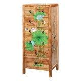 Product ID : 6538 - Category : Sideboard-Short - Product Name : Lotus Lacquer Painted Side Cabinet with 10 Drawer
