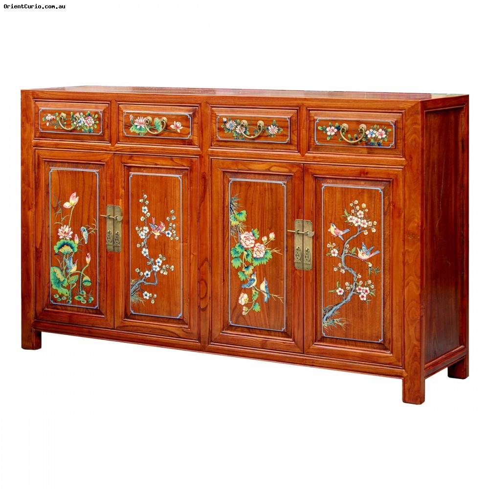 Category: Sideboard-Long - Code:  - Size(cm): 150 W × 40 D × 93 H