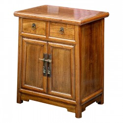 Product ID : 6652 - Category : Bedside Table - Product Name : Wooden Bedside Cabinet 2 Drawer 2 Door
