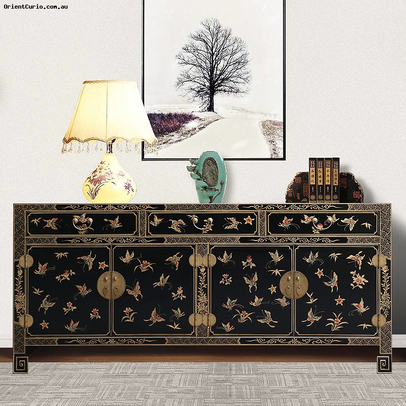 Category: Sideboard - Code:  - Size(cm): 200 W × 40 D × 90 H