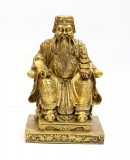 Product ID : 6419 - Category : Other Decor - Product Name : Brass Earth God Figure 黃銅土地公像