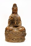 Product ID : 6407 - Category : Other Decor - Product Name : Brass Guan Yin Figure 黃銅觀音像