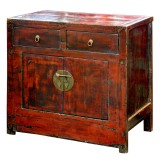 Product ID : 6552 - Category : Sideboard - Product Name : Vintage Chinese Style Side Cabinet 2 Drawer 2 Door