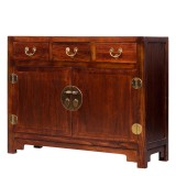Product ID : 7067 - Category : Sideboard - Product Name : Wooden Chinese Style Sideboard with 3 Drawers and 2 Doors