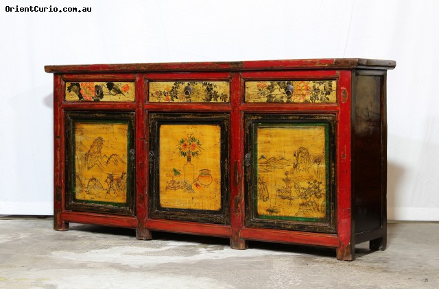 Category: Long Sideboard - Code:  - Size(cm): 197 W × 45 D × 95 H