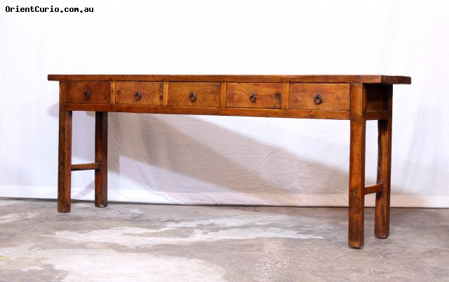 Category: Console Table - Code:  - Size(cm): 215 W × 38 D × 83 H