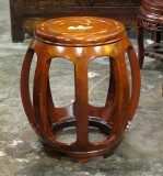 Product ID : 6079 - Category : Chair - Product Name : Chinese Style Wooden Drum Style Stool