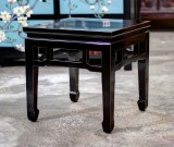 Product ID : 6772 - Category : Coffee Table - Product Name : Chinese Black Lacquer Square Tea Table