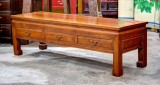 Product ID : 6736 - Category : TV Cabinet - Product Name : Vintage Chinese Style TV Table with 3 Drawer
