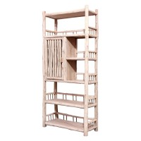 Product ID : 7022 - Category : Shelf - Product Name : Original Ecology Natural Style Bookshelf with 1 Doors
