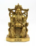 Product ID : 6414 - Category : Other Decor - Product Name : Brass God of Wealth Figure 黃銅財神像
