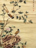 Product ID : 6337 - Category : Painting - Product Name : Vintage Chinese Original Water Ink Hand Painting Scroll The Flower and Bird
