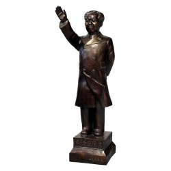 Product ID : 6116 - Category : Other Decor - Product Name : Former Chairman of China Mao Zedong Bronze Statue