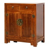 Product ID : 6075 - Category : Small Cabinet - Product Name : Chinese Style Elm Wood Bedside Cabinet