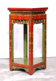 Product ID : 7021 - Category : Console Table - Product Name : Tibetan Style Lacquer Painted Vase Stand or Console Table