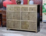 Product ID : 6840 - Category : Sideboard - Product Name : Silver Pattern Wooden Sideboard 5 Drawer 2 Door