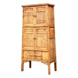 Product ID : 6670 - Category : Wardrobe - Product Name : Vintage Country Style Bamboo Wardrobe