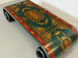 Product ID : 6440 - Category : Coffee Table - Product Name : Tibetan Painting Roll Leg Coffee Table