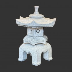 Product ID : 6785 - Category : Other Decor - Product Name : Oriental Outdoor Solid Stone Garden Lantern