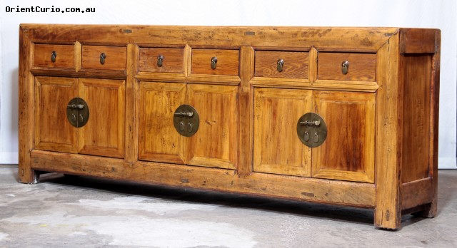 Category: Long Sideboard - Code:  - Size(cm): 245 W × 45 D × 95 H