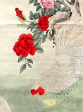 Product ID : 6291 - Category : Painting - Product Name : Vintage Chinese Original Water Ink Hand Painting Scroll The Flower and Bird