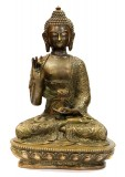 Product ID : 6456 - Category : Other Decor - Product Name : Brass Buddha Figure 黃銅佛像