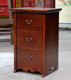 Product ID : 6733 - Category : Small Cabinet - Product Name : Korean Style Small 3 Drawers Bedside Cabinet