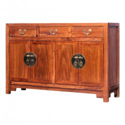 Product ID : 7063 - Category : Long Sideboard - Product Name : Wooden Chinese Style Sideboard with 3 Drawers and 4 Doors
